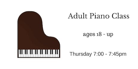 Adult Piano Trial Class tickets