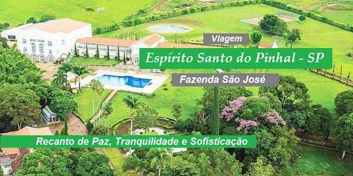 Viagem Espírito Santo do Pinhal – SP - quarto TRIPLO - De 18 a 20/10/2019