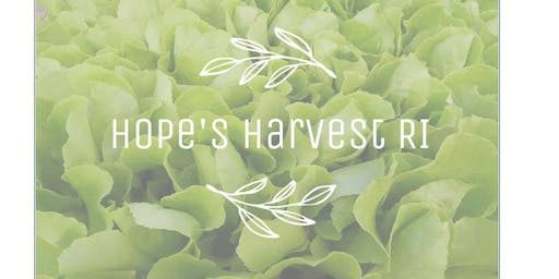 Gleaning Trip with Hope's Harvest - Wednesday, July 24th
