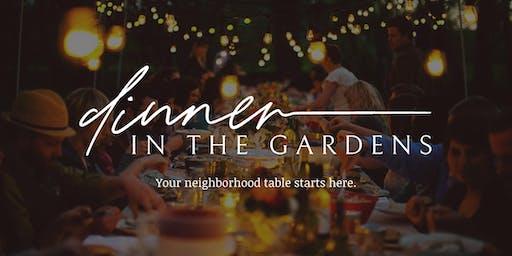 Dinner in the Gardens