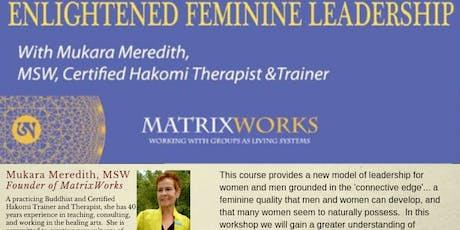 Enlightened Feminine Leadership Level 1 tickets