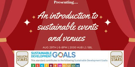 An intro to sustainable events and venues  tickets