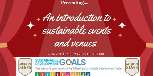 An intro to sustainable events and venues
