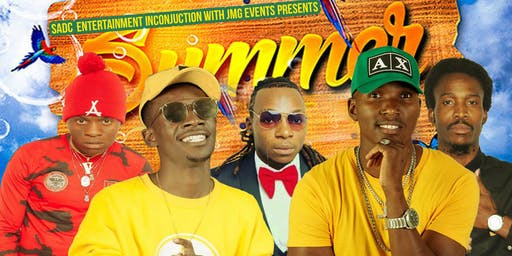 Jah Signal , Freeman HKD Boss, Ti Gonzi & Dobba Don in the Summer ShutDown UK Tour 2019