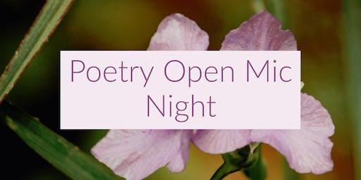 Poetry Open Mic