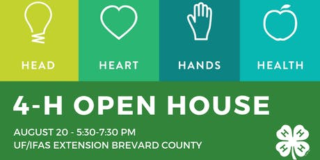 Brevard County 4-H 2019 Open House tickets