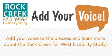 Rock Creek Far West Final Public Workshop #3 tickets