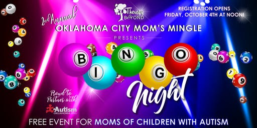 Therapy and Beyond's 2nd Annual Moms Mingle for Moms of Children with Autism - OKC