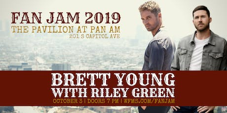 Brett Young Live at WFMS FANJAM tickets