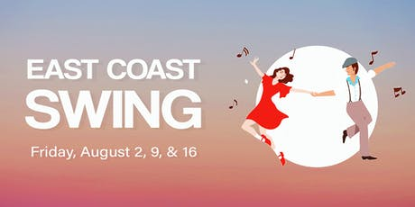 East Coast Swing Lessons (drop-in class - August) tickets