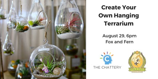 Create Your Own Hanging Terrarium
