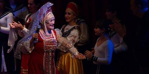 Lilia Barinova y el Ballet Ruso Rondina
