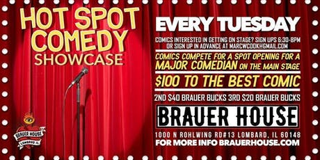 Hot Spot Comedy Showcase tickets