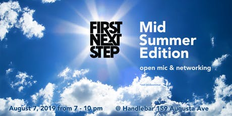 First Next Step: Mid-summer Edition tickets
