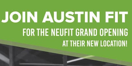 Austin Fit Celebrates NeuFit Grand Re-Opening! tickets