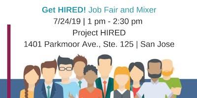 Get HIRED: Job Fair & Mixer