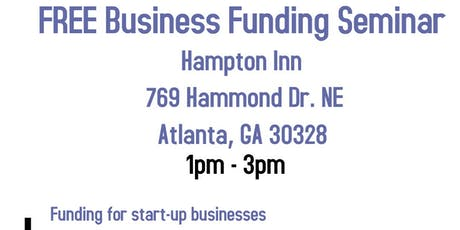 FREE Business Funding for Your Business Seminar tickets