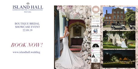 Boutique Bridal Showcase at Island Hall tickets