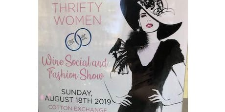 Thrifty Women Wine Social and Fashion Show tickets
