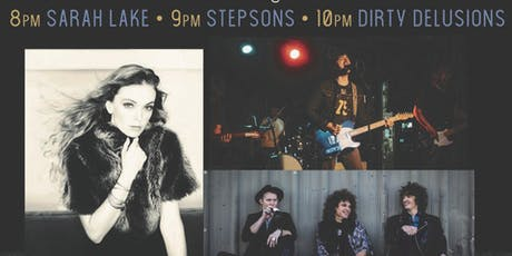 Red Roots Music presents Sarah Lake, Stepsons and The Dirty Delusions  tickets