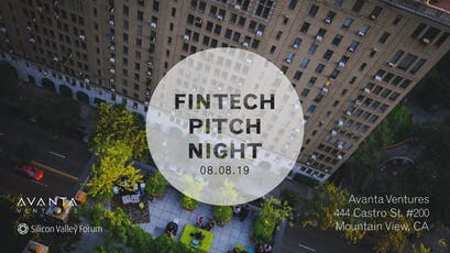 FinTech Pitch Night with Avanta Ventures tickets