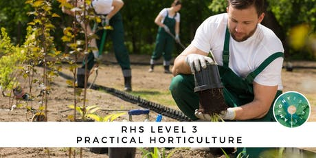RHS Level 3 Practical Horticulture tickets