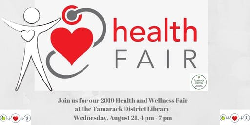 Health Fair at the Tamarack District Library
