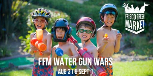 Watergun Wars at FFM