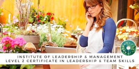 ILM Level 2 Certificate in Leadership & Team Skills tickets