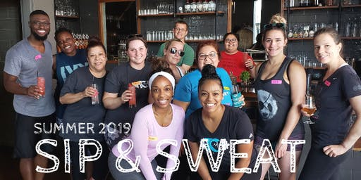 T.C. Fitness Presents: Sip & Sweat Saturdays