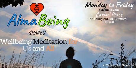 AlmaBeing shares Wellbeing Meditation for Us and All tickets