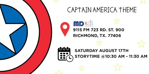 Children's Summer Reading Time with Captain America