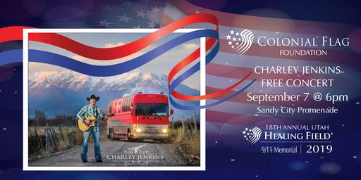 Colonial Flag Foundation Benefit Concert featuring Charley Jenkins