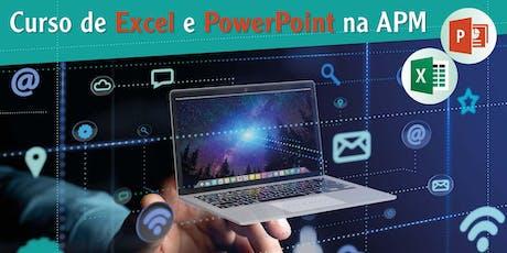 Curso de informática – Microsoft PowerPoint Intermediário tickets