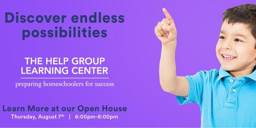 The Help Group Learning Center - Open House 8/7