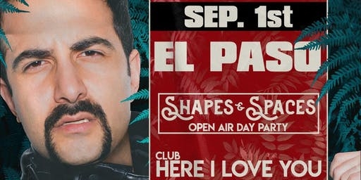 Shapes & Spaces (Open Air Day Party) W/ Valentino Khan