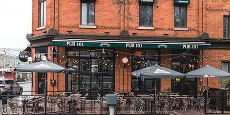 5 à 8 de l'été chez Pub 101  tickets