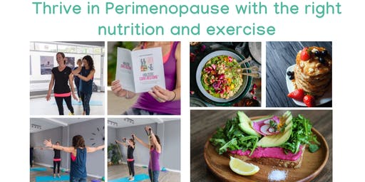 Peri-menopause workshop: Knowing the right nutrition and targeted exercise
