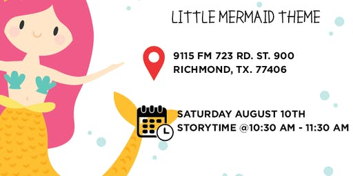 Children's Summer Reading Time with the Little Mermaid