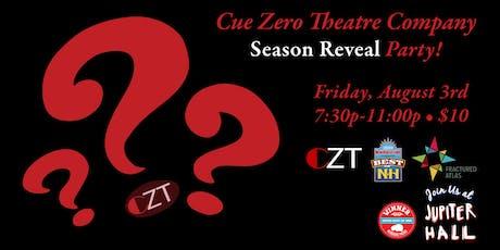 Cue Zero Season 1 Celebration/Season 2 Reveal! tickets