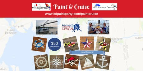 Paint & Cruise on the MV Bay Breeze - 8/25 tickets