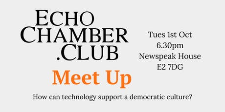 The Echo Chamber Club tickets