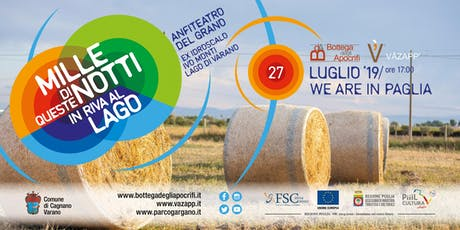 We Are in Paglia - Idroscalo  biglietti