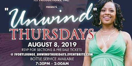 """""""Unwind Thursdays"""" - Live Music / R&B / Hip-Hop tickets"""