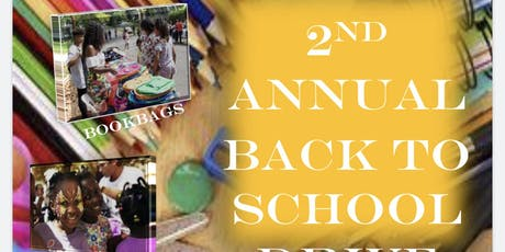 2nd Annual Back to School Drive tickets