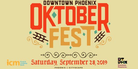 2019 Downtown Phoenix Oktoberfest tickets