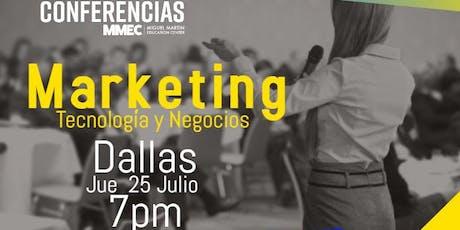 Marketing Tecnología y Negocios tickets
