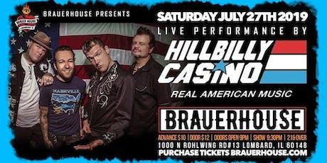 Hillbilly Casino tickets