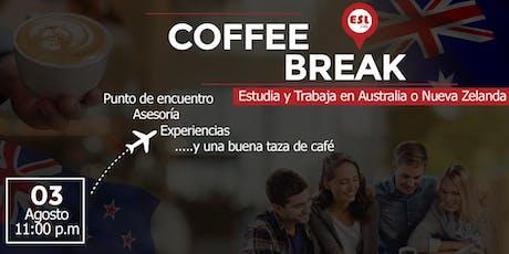 Coffee Break - Estudia y Trabaja en el Extranjero tickets