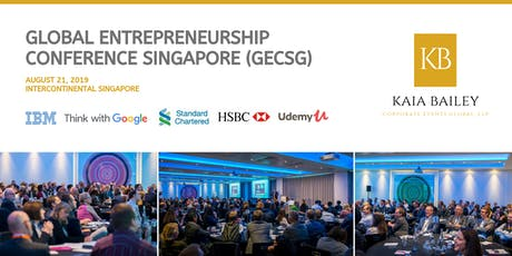 Global Entrepreneurship Conference Singapore (GECSG) tickets